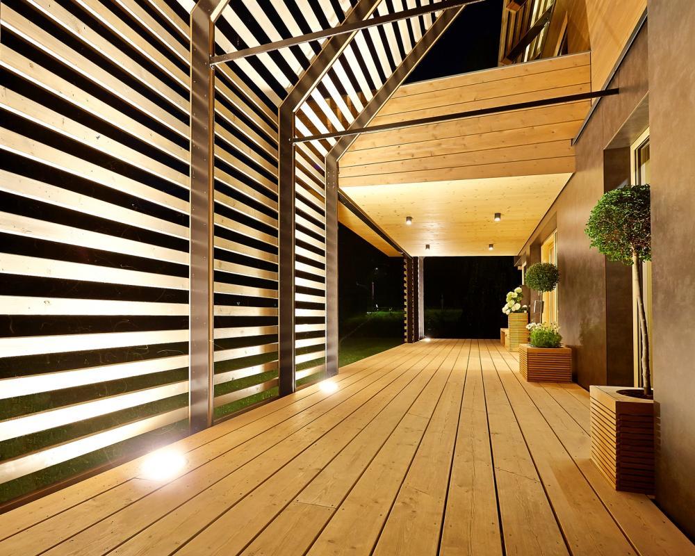 Holzbau Strigl: Passivhaus Eisenstraße: Architektur